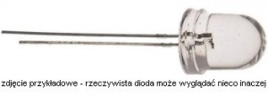 OE2R425C Dioda LED-8mm czerwona 635nm 8cd water-clear