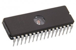 UMGIC10D EPROM 27C801-100   1Mb×8 100ns CMOS DIP32  (Thomson)